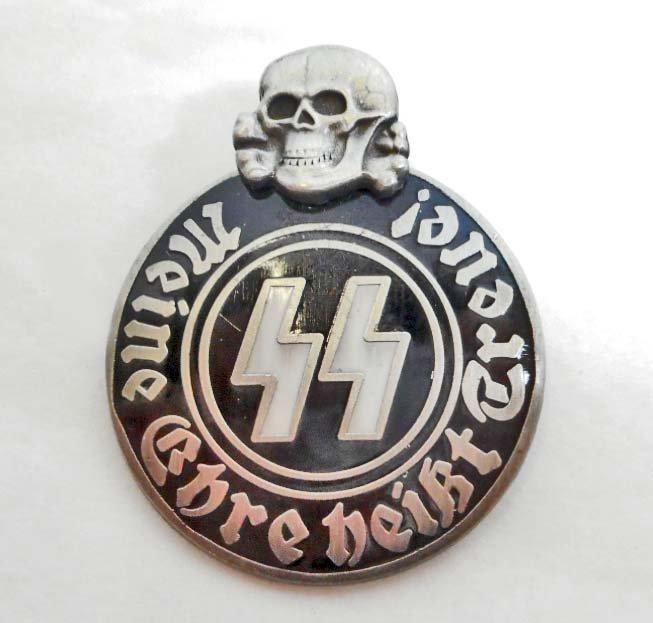 GERMAN NAZI WAFFEN SS PARTY BADGE