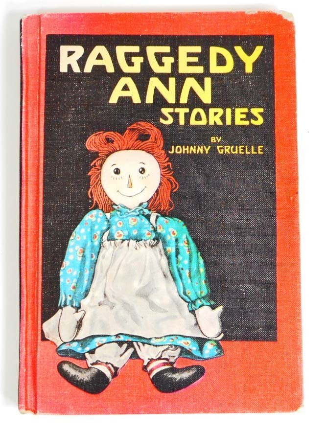 "VINTAGE 1961 ""RAGGEDY ANN STORIES"" HARDCOVER BOOK"
