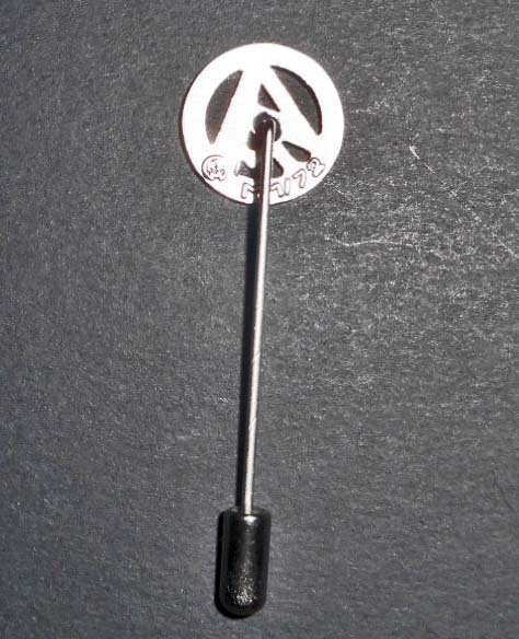 NAZI GERMAN SA STURM ABTEILUNG BROWN SHIRTS STICK PIN - 2