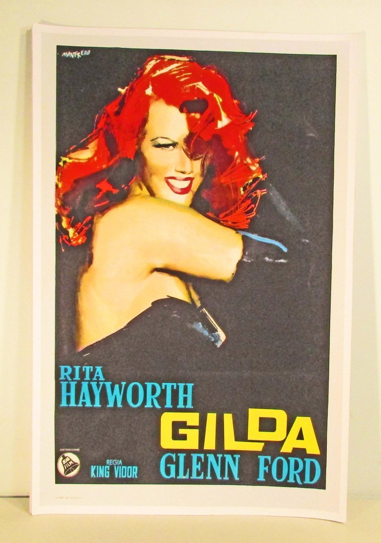 RITA HAYWORTH GILDA MOVIE POSTER PRINT