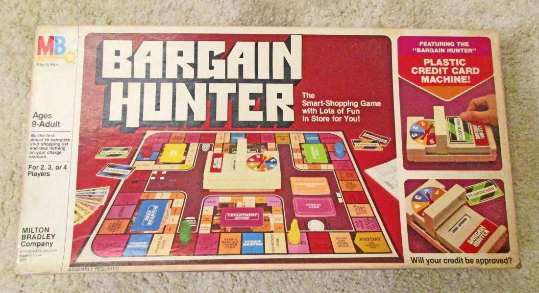 VINTAGE MB BARGAIN HUNTER BOARD GAME IN ORIG. BOX
