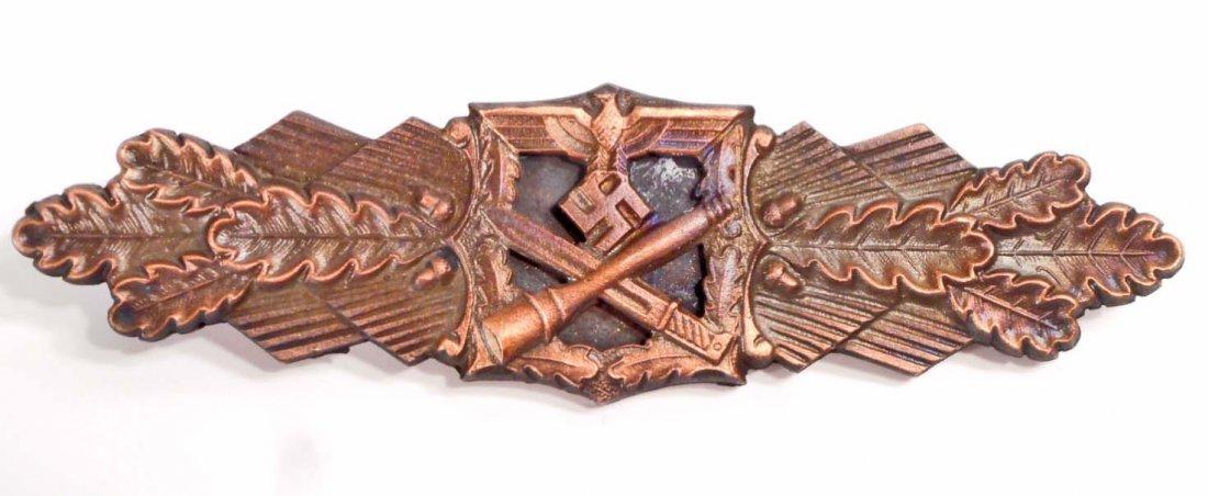 GERMAN NAZI ARMY BRONZE CLOSE COMBAT CLASP