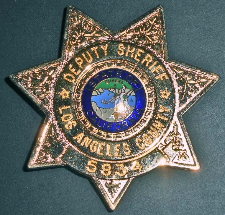 OBSOLETE LOS ANGELES COUNTY CALIFORNIA DEPUTY SHERIFF