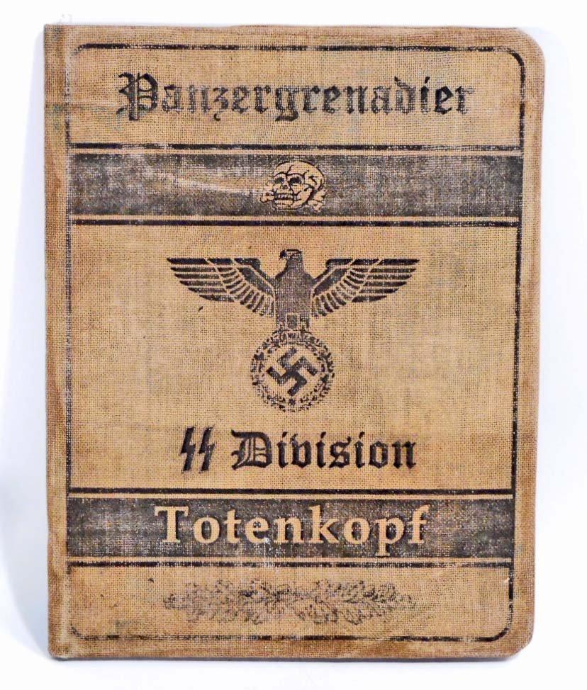 GERMAN NAZI WAFFEN SS TOTENKOPF SOLDIER IDENTIFICATION