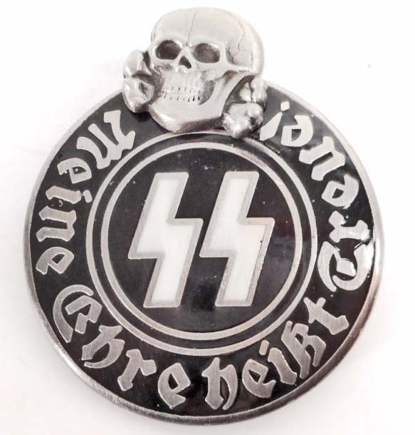 Nazi waffen ss membership party badge german nazi waffen ss membership party badge biocorpaavc Image collections