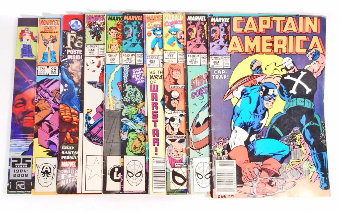 LOT OF 10 VINTAGE COMIC BOOKS = INCL. TRANSFORMERS,