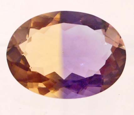 10.9 CT PURPLE AND GOLDEN AMETRINE