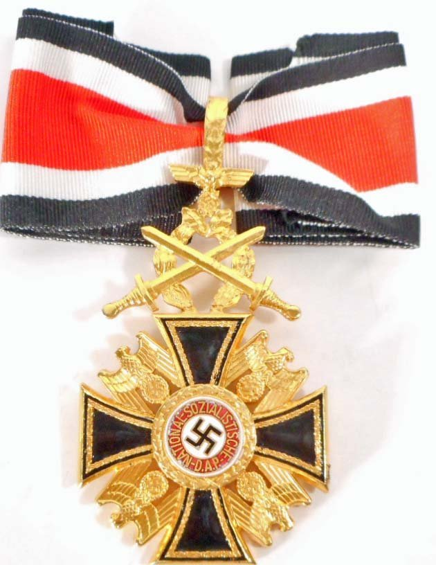 GERMAN NAZI GERMAN ORDER OF THE DEAD NECK ORDER W/
