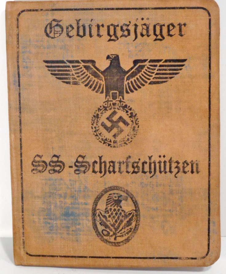 GERMAN NAZI WAFFEN SS SNIPER SOLDIER IDENTIFICATION