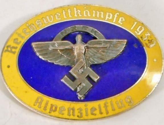 GERMAN NAZI NSFK GLIDER CORPS BADGE
