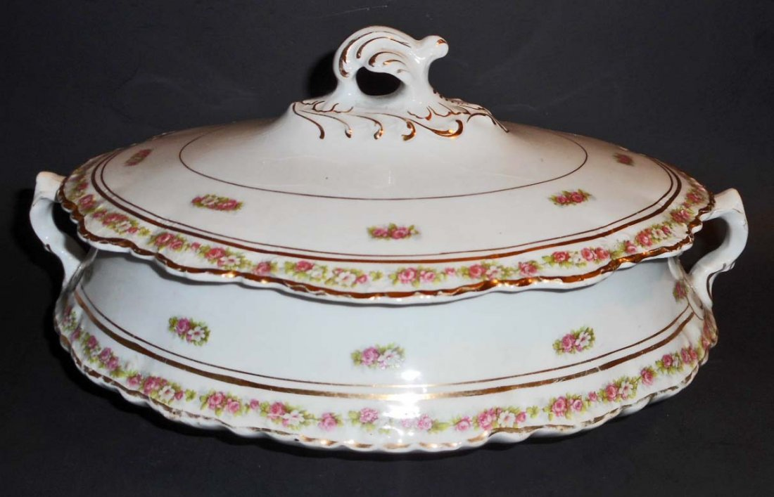 """VINTAGE HOMER LAUGHLIN COVERED DISH - 10"""" X 7"""" X 3"""""""
