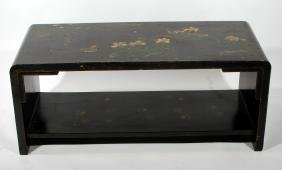Lacquered and Painted Coffee Table