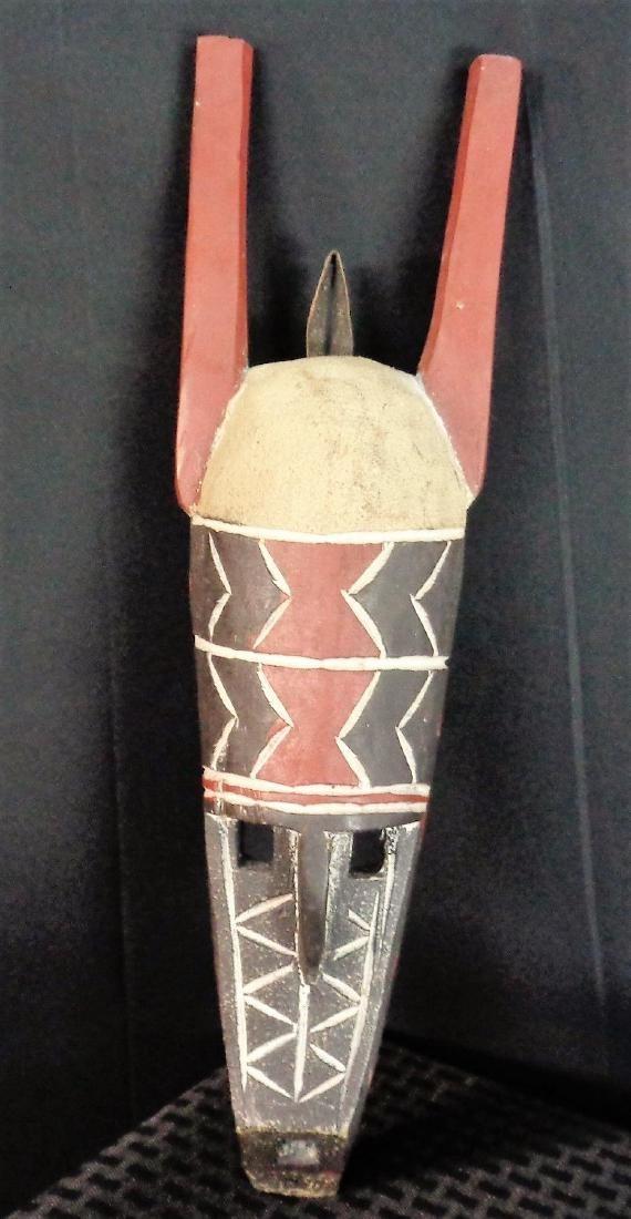 Mask Ghana Anthropomorphic EWE tribe 20th century