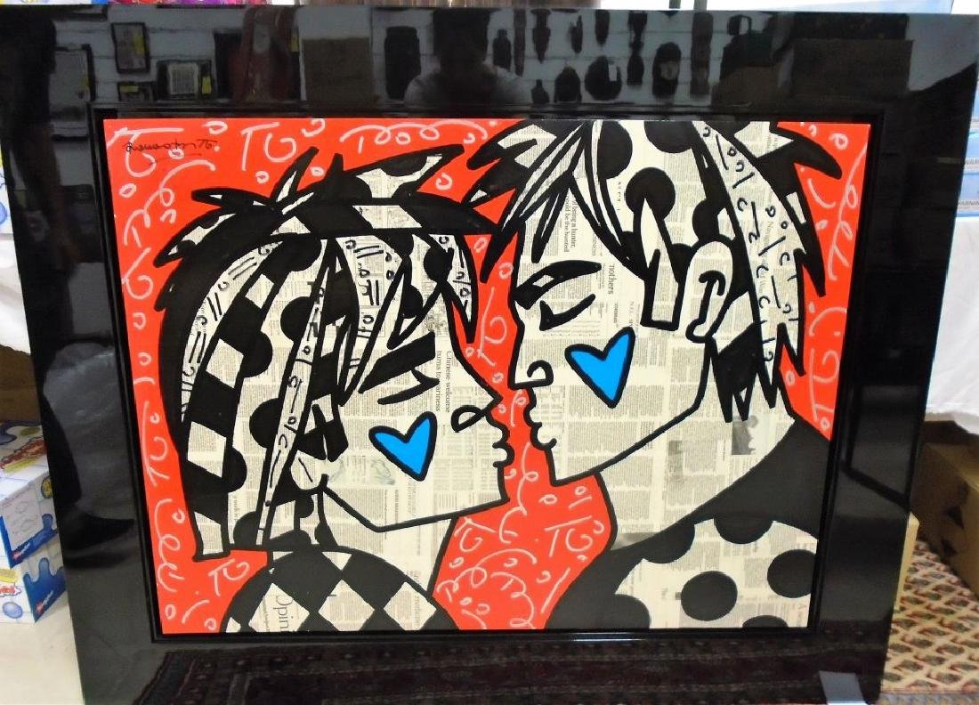 """Red Pride"" by Romero Britto."