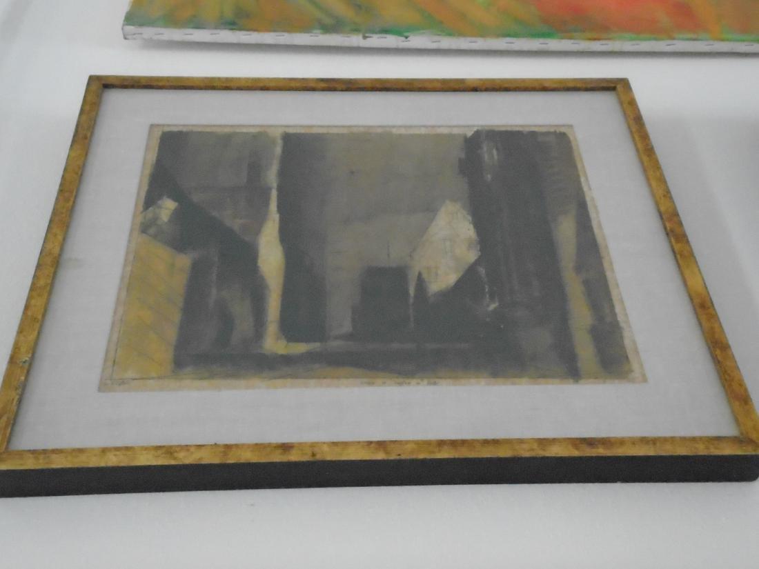 STRASSE IN TREPTOW D. REGA  WALL ART IN A FRAME