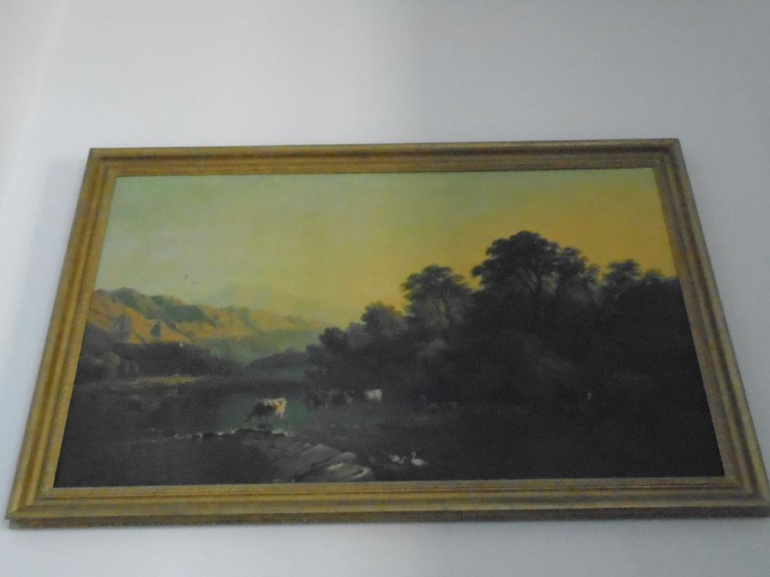 FRAMED VINTAGE OIL PAINTING