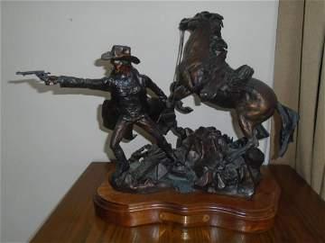 Do or Die Bronze Sculpture