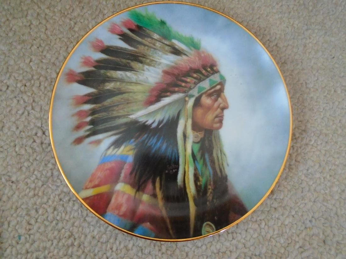 Set of 4 Artaffects Porcelain plates by Gregory - 5
