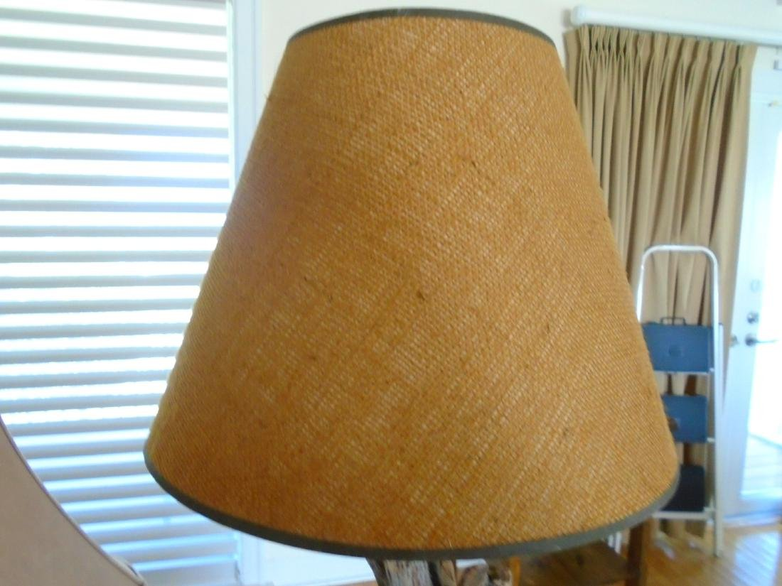 Cowboy Table Lamp with shade. - 3