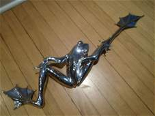 Vanquish Stainless Steel Frog by Tim Cotterill.