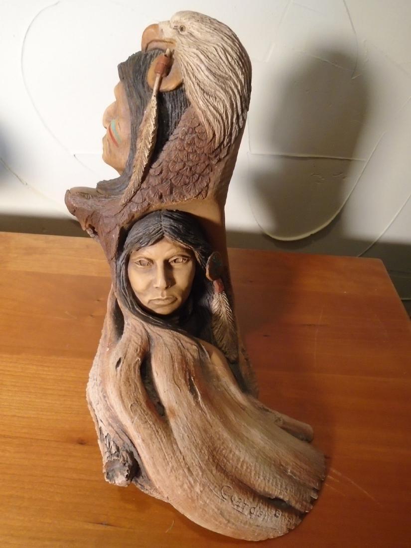 Guardian Sculpture By Stephen Herrero - 3