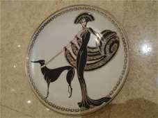 Symphony in Black Limited edition fine porcelain plate.