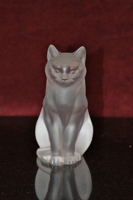 9: Lalique Sitting Cat