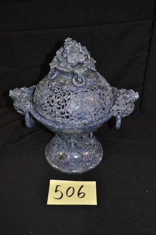 506: Lapis Incense Burner