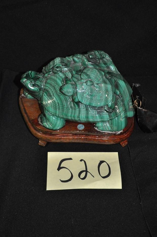 520: Malachite Turtle