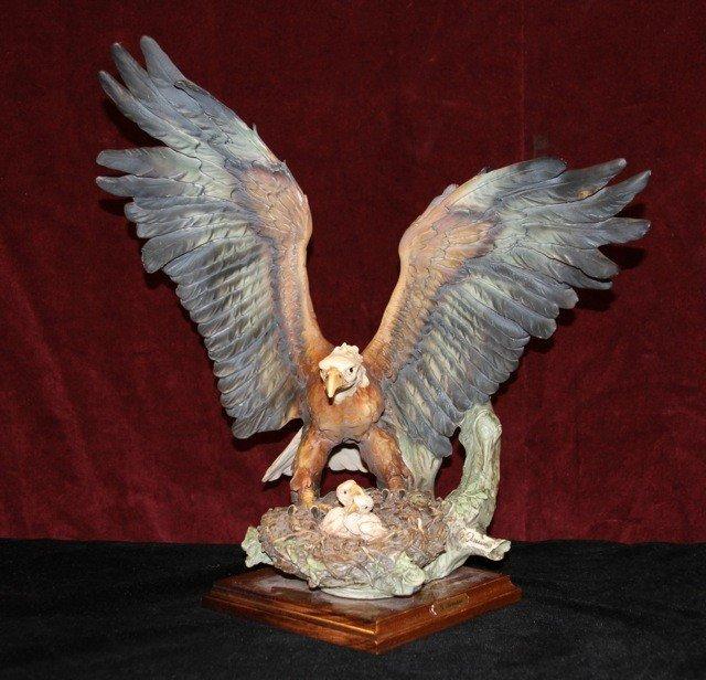 """18: Giuseppe Armani """"Eagle on Nest"""""""
