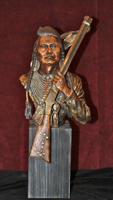 """23: Legends Bronze """"No More, Forever"""" Chief Joseph"""