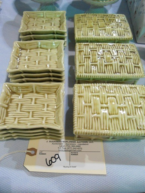 609: 15 Piece Exclusive Chamart France Jewelry & Plate