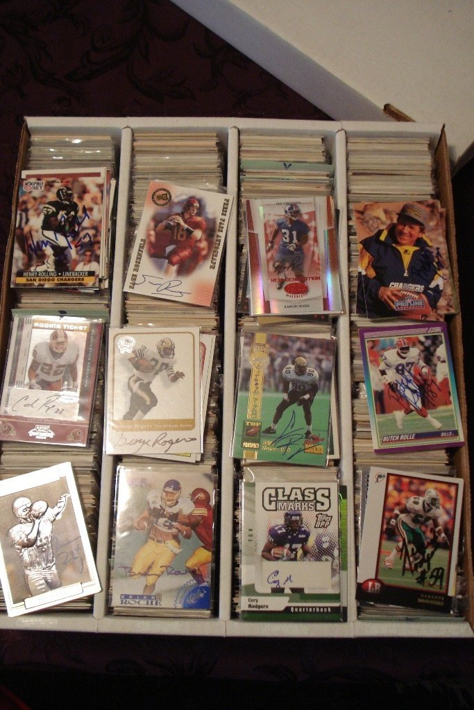 5: AUTOGRAPHED TRADING CARDS (60,740+)