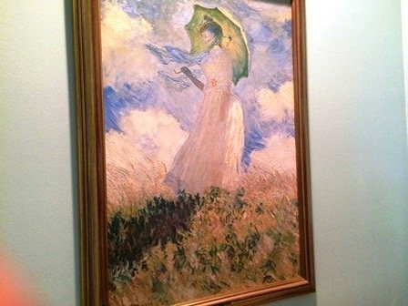 """""""Lady with a Parasol"""" by Claude Monet"""