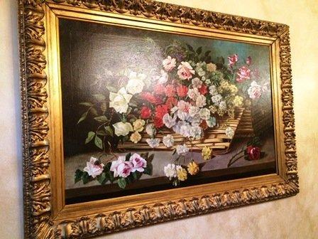 """Carnations"" by Josef Kugler"