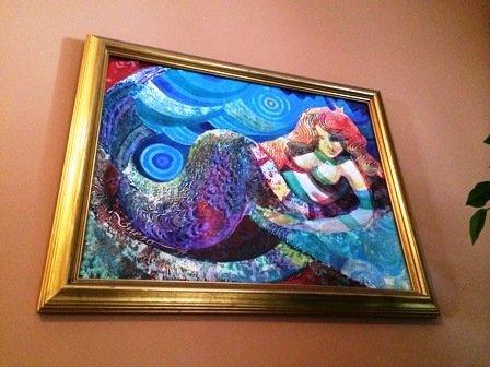 """""""Mermaid"""" by Andy Bueso 1994"""