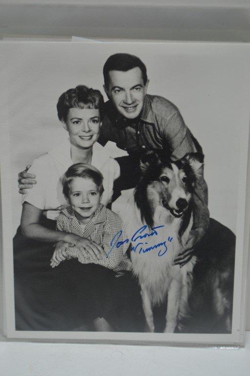 "Lassie Jon Provost ""Timmy"" signed photo"