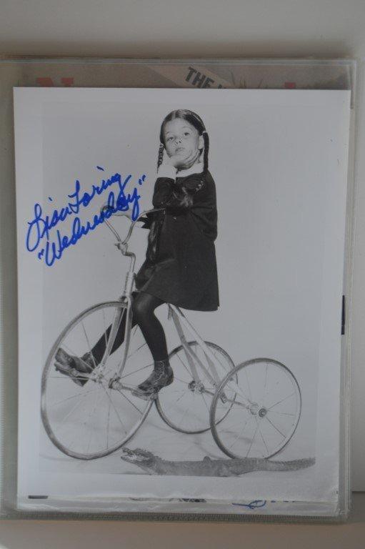 "Lisa Loring ""Addams Family"" Signed 8x10 Photo"