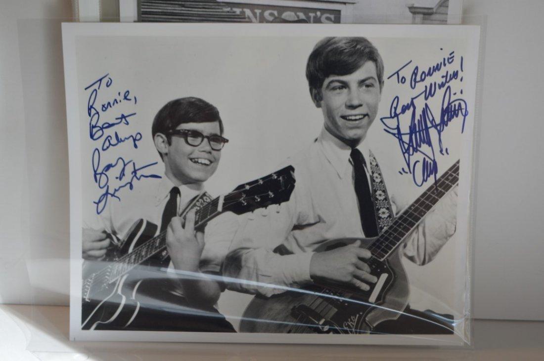"""My Three Sons"" autographed b&w 8x10 photo"