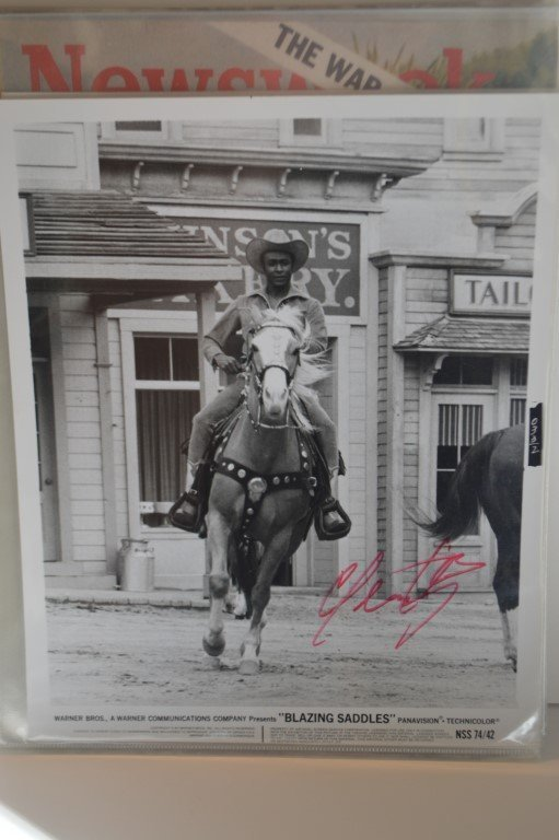 Cleavon Little Autographed 8x10 Lobby Card
