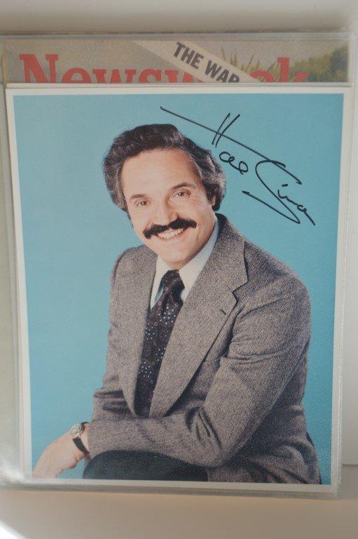 Hal Linden ( Barney Miller) singed photo