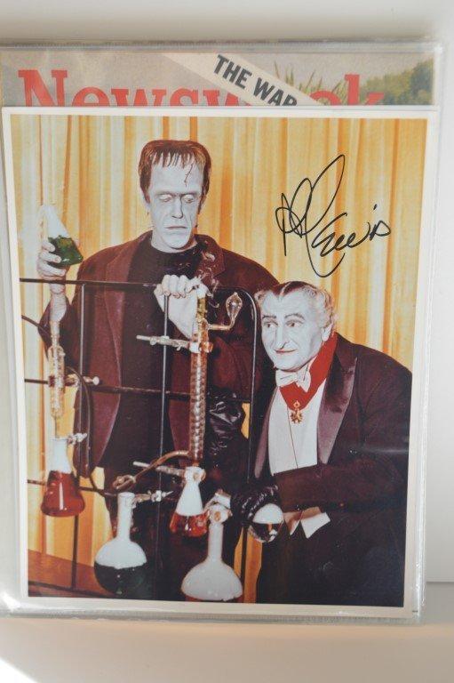 Al Lewis (The Munsters) Autographed 8x10 photo