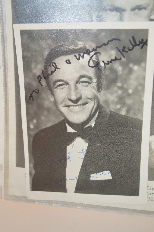Gene Kelly Autographed 4x8 photo