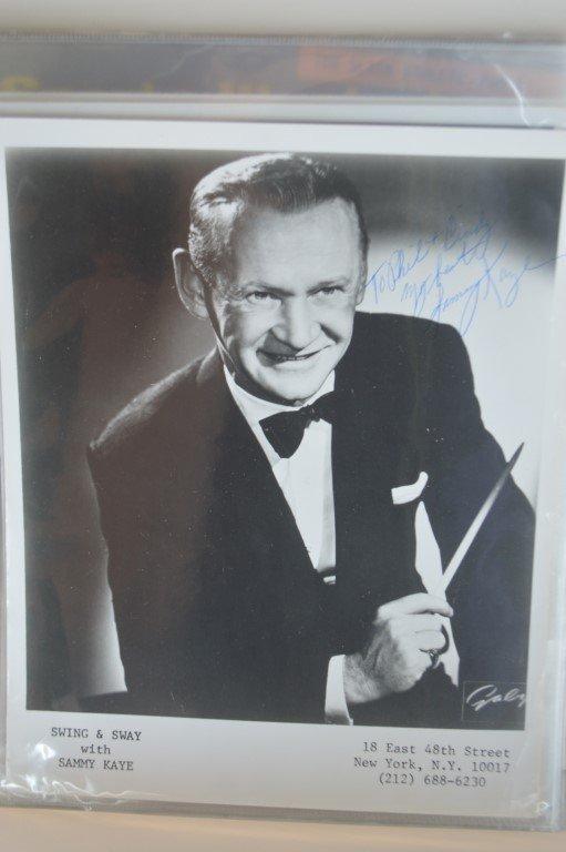Sammy Kaye Autographed Big Band 8x10 Promo 8x10.