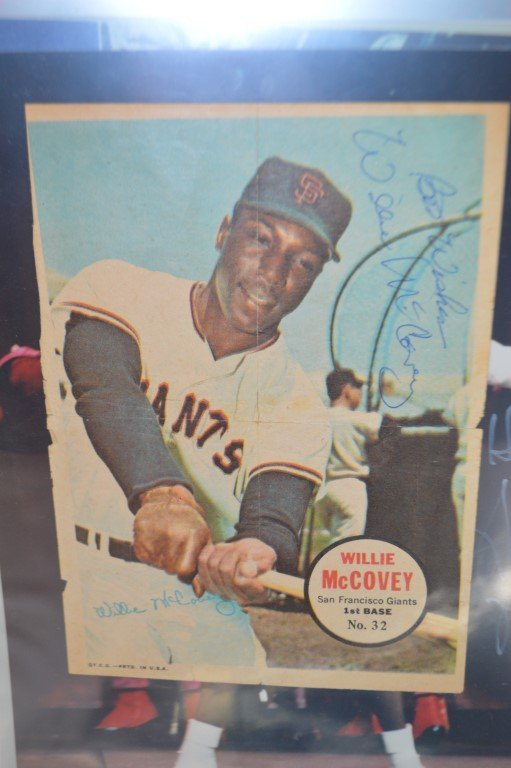 Willie McCovey Signed 4x6 Print