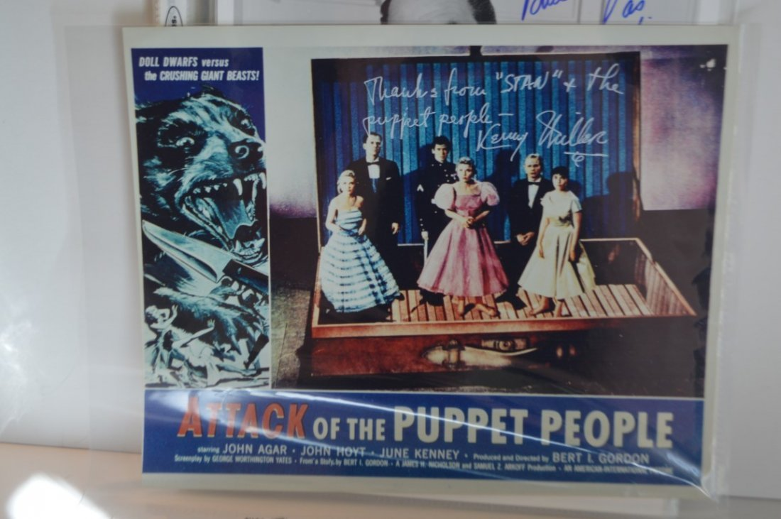 Kenny Miller Autographed Lobby Card