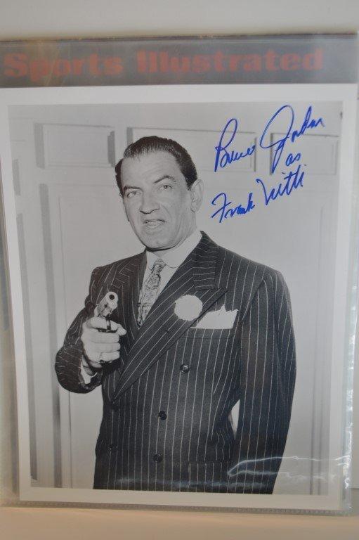 Bruce Gordon (The Untouchables) signed 8x10 photo
