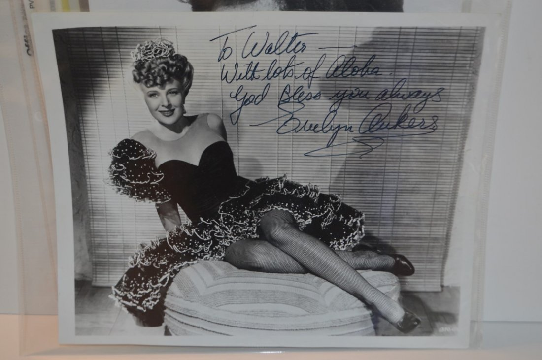 Evelyn Ankers Autographed 8x10 Photo