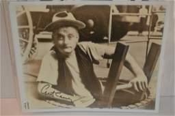 Art Carney Vintage Autographed 8x10 photo