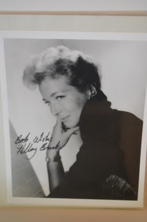 Hillary Brooke Autographed 8x10 photo